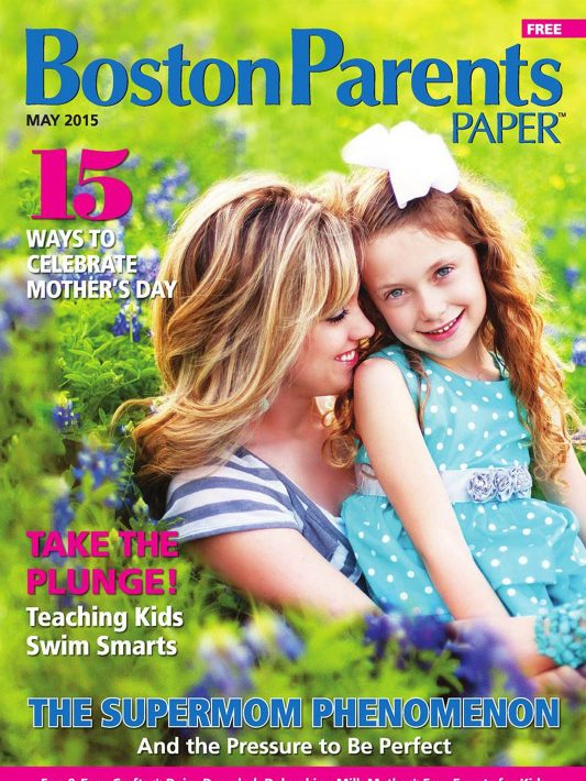 Featured on Cover of Boston Parents Paper