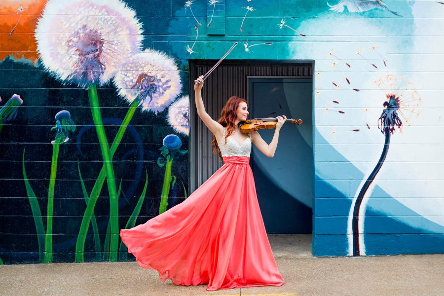 Chloé Trevor, Violin | Classical Music Headshots