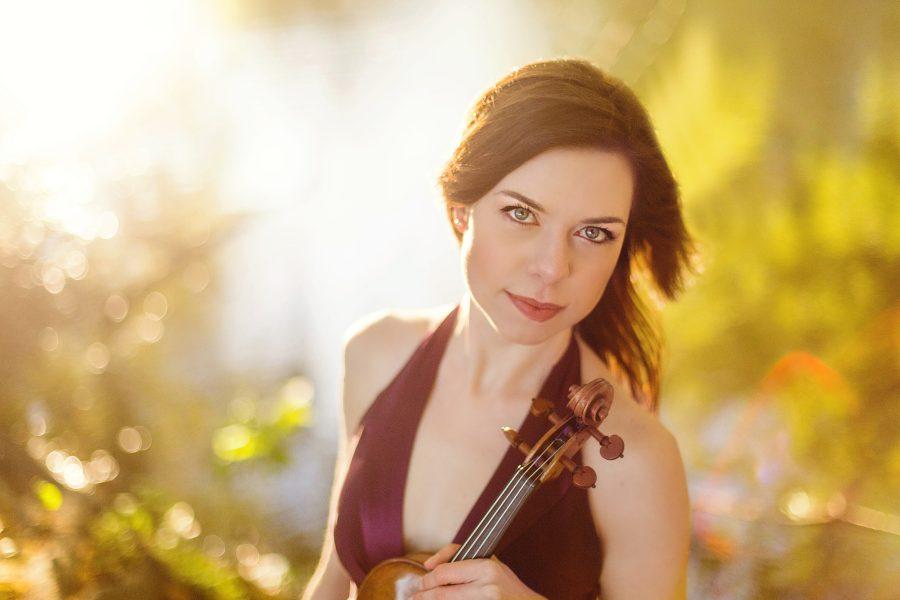 Tessa Lark, violin   Classical Music Headshot Photographer