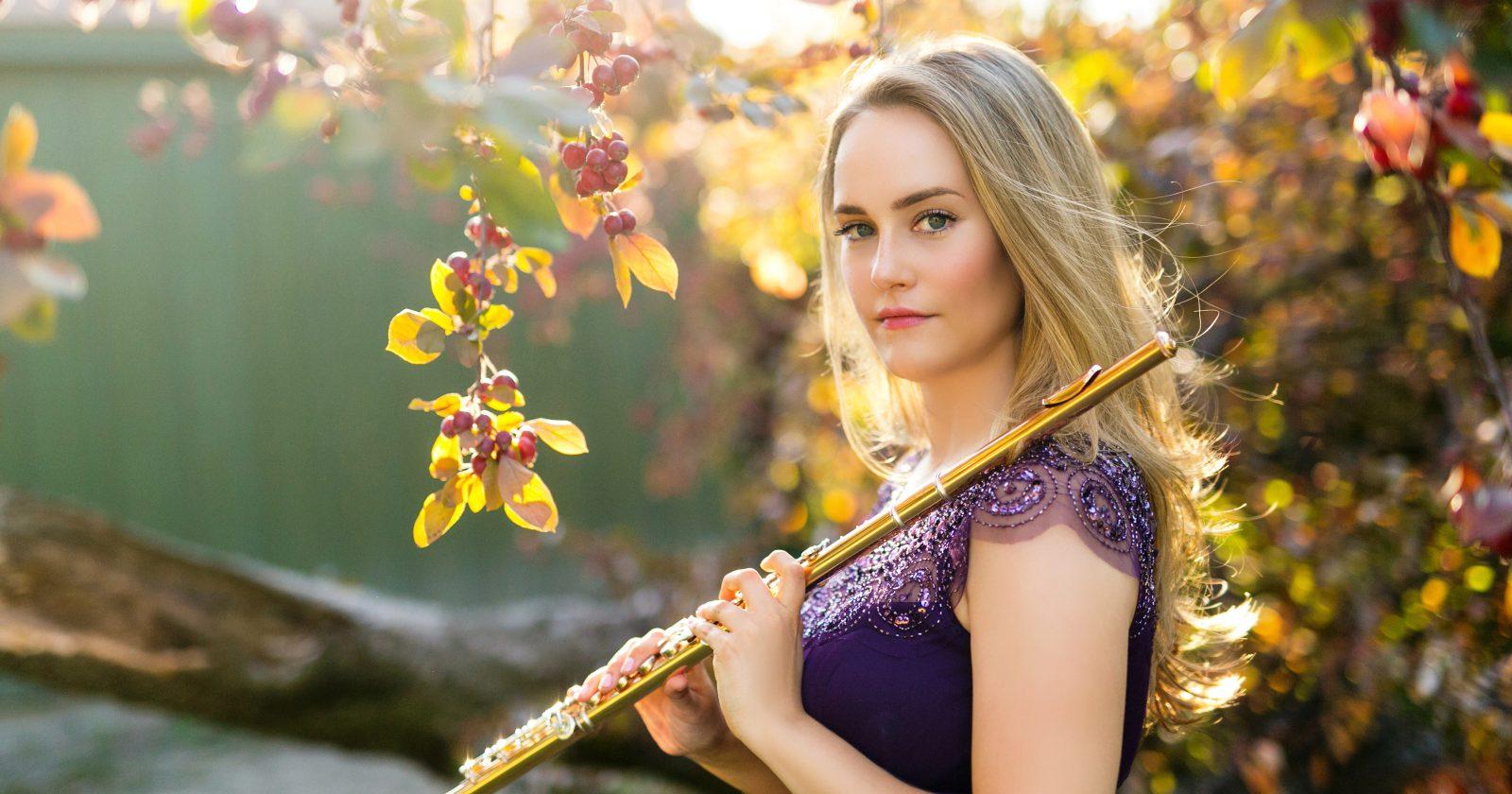 Katie Althen, flute