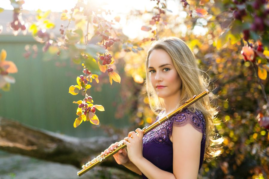 Katie Althen, flute | Classical Music Headshots