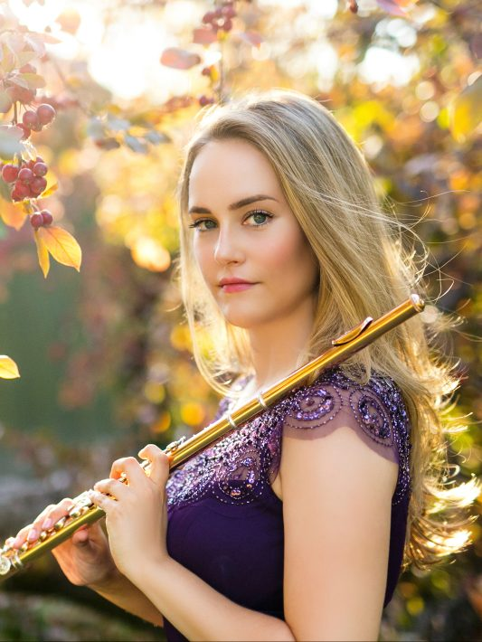 Katie Althen, flute | Classical Music Headshots