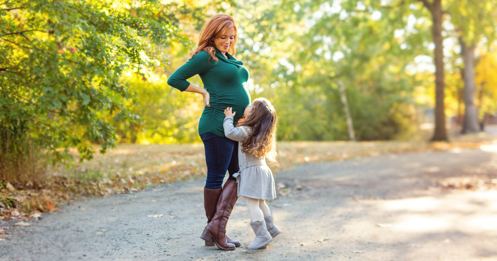 Boston Autumn Maternity Photos