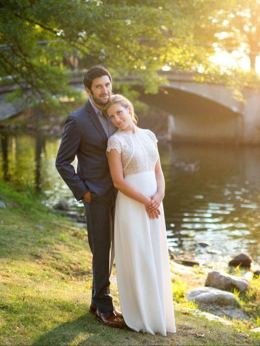 Denitsa & Emre's Wedding Photos | Boston City Hall Elopement