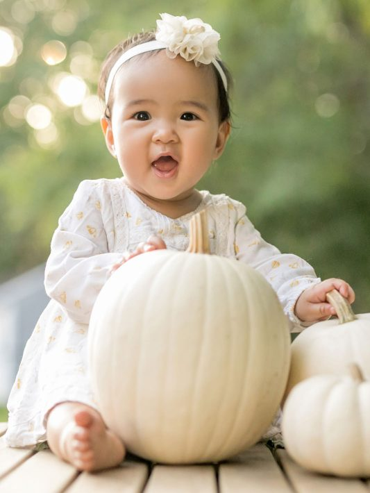 The Cutest Pumpkin | Boston Baby Photographer