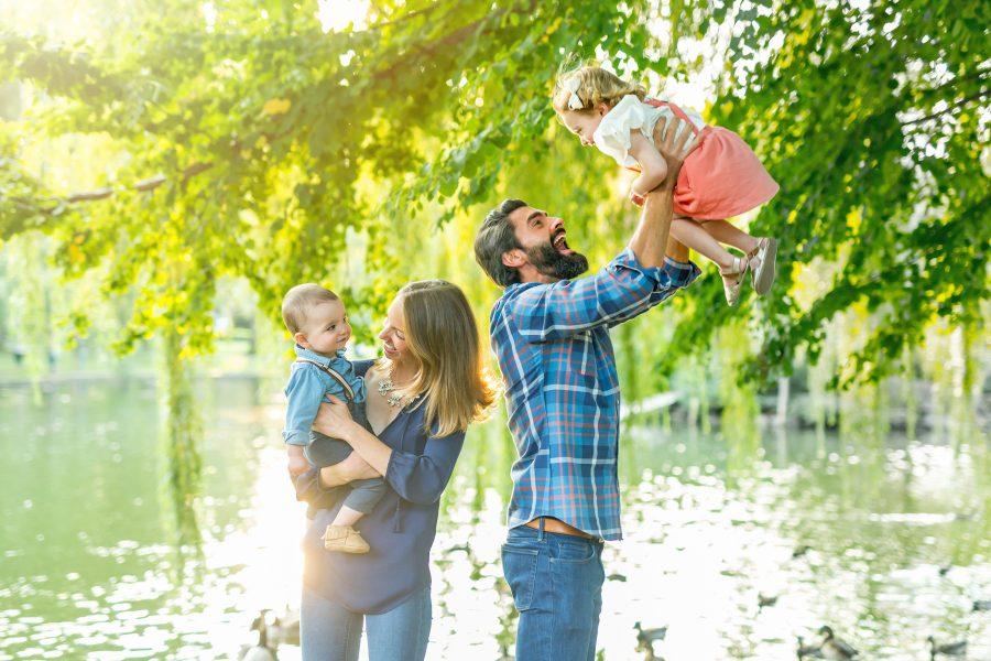 Boston Public Garden Family Photos