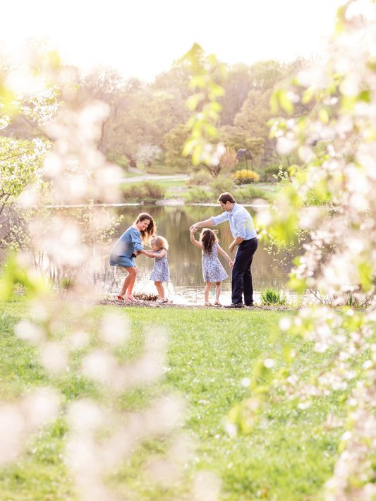 Spring Family Photos at the Arnold Arboretum