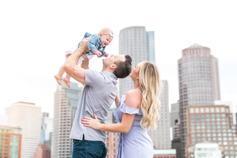 Boston Harbor Walk Family Session