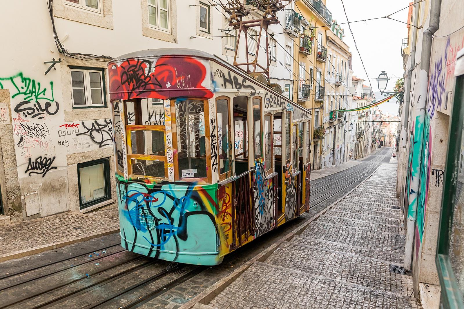 Bica Funicular, Lisbon