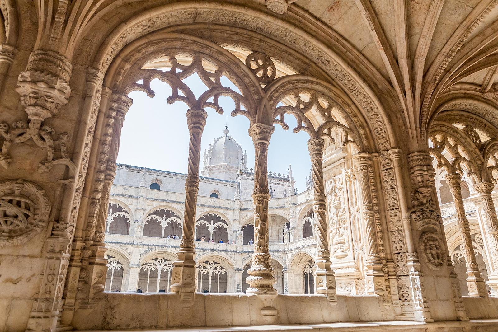 Jerónimos Monastery in Belem, Lisbon