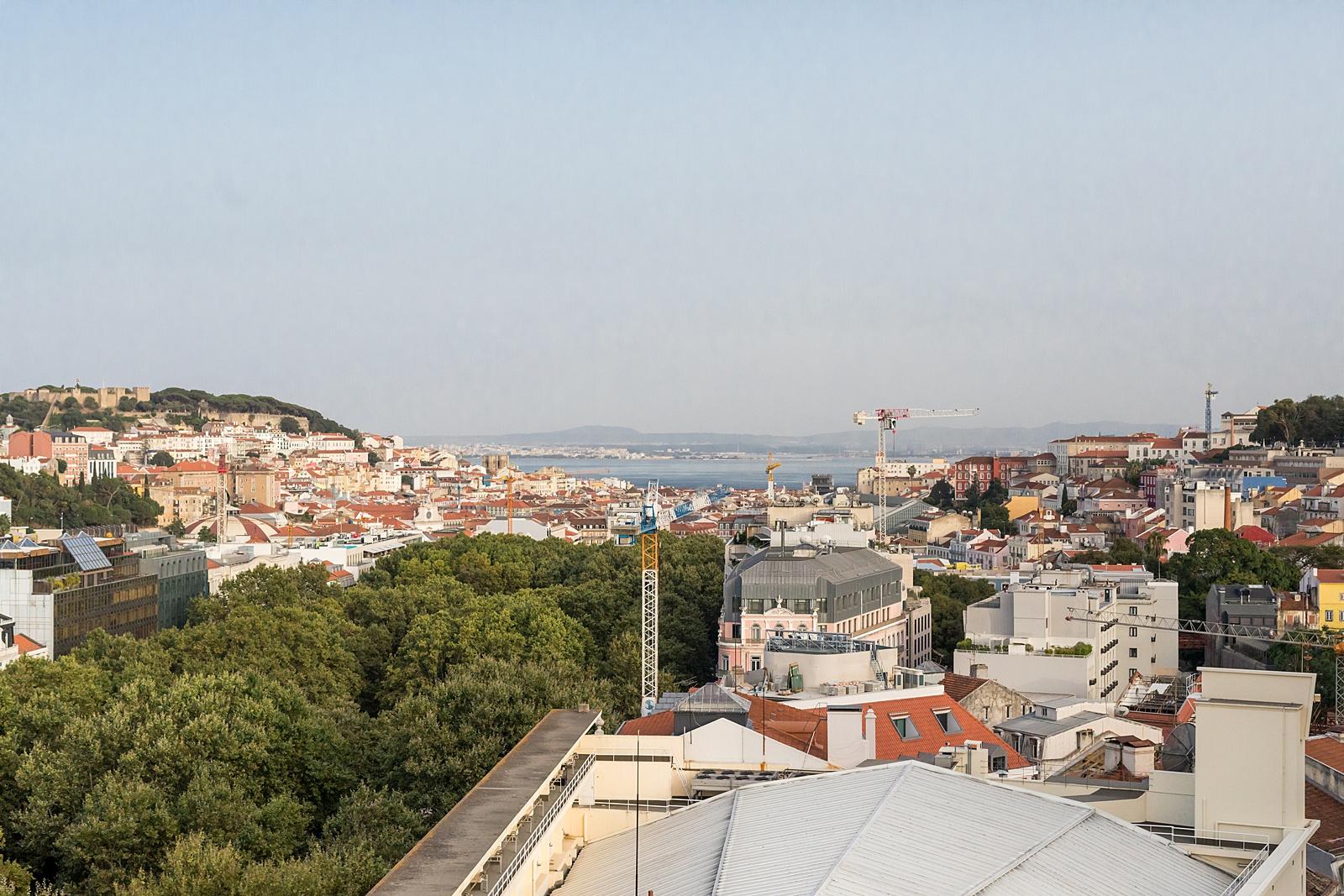 Park Bar view, Lisbon