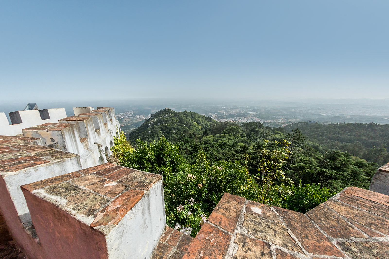 Wall Walk, Pena Palace, Sintra