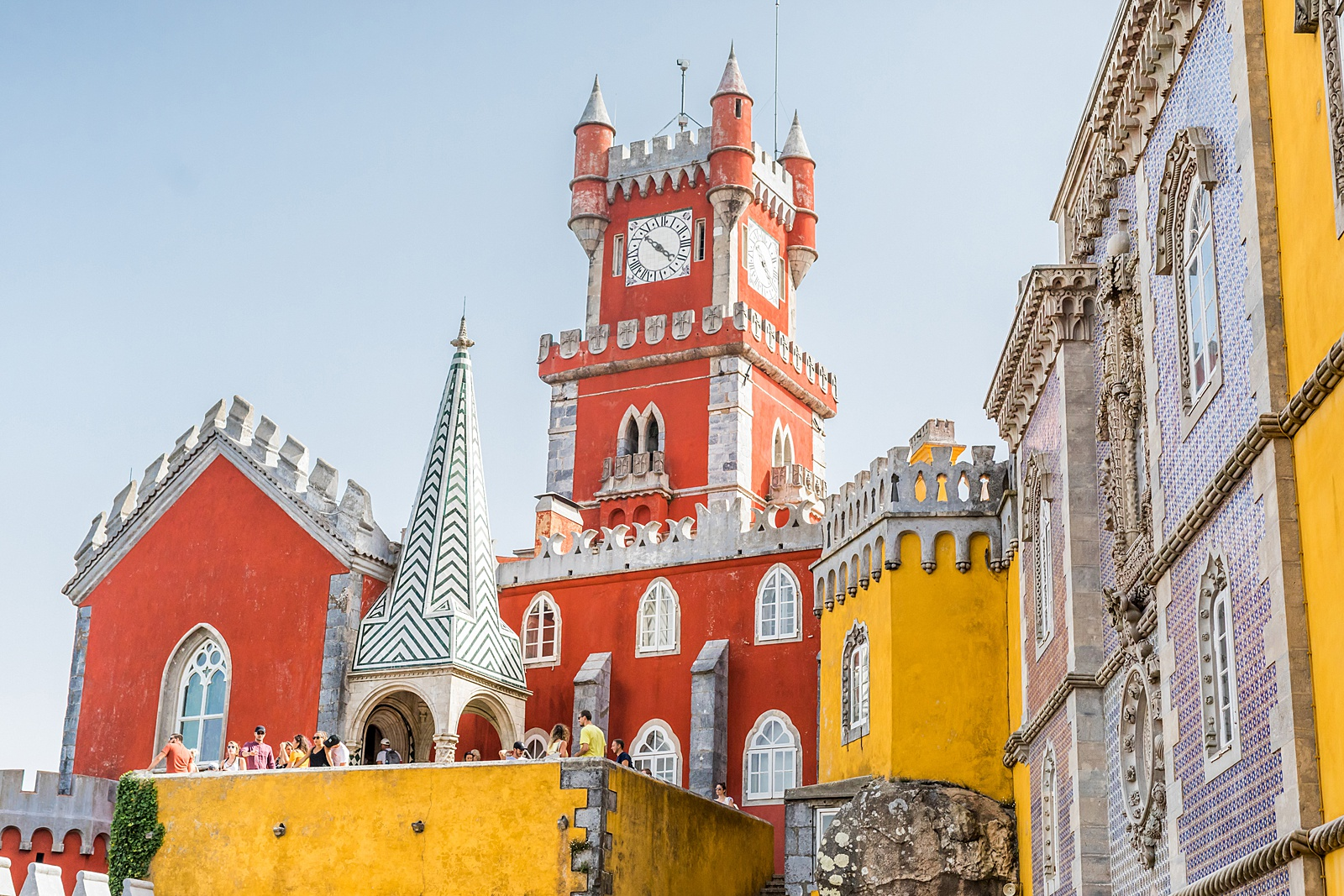 Pena Palace, Sintra tourist season