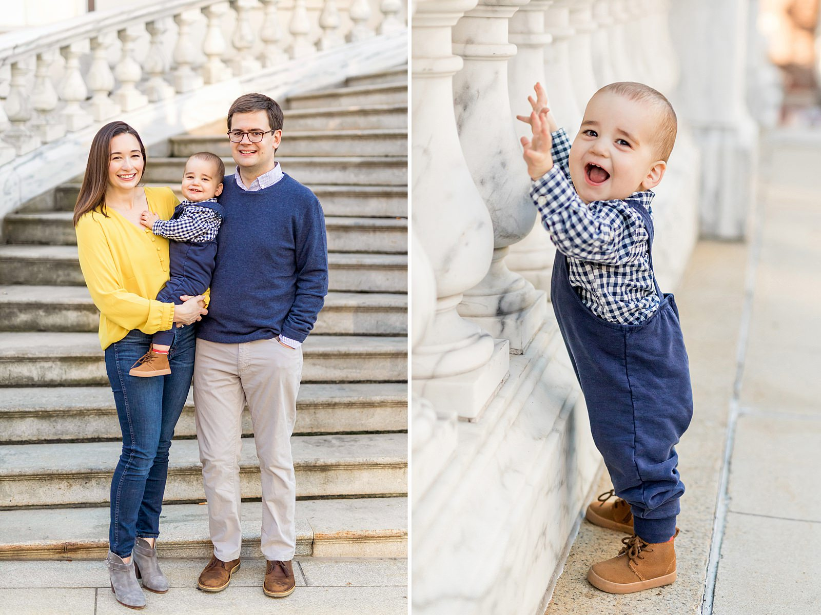 family photos at boston state house