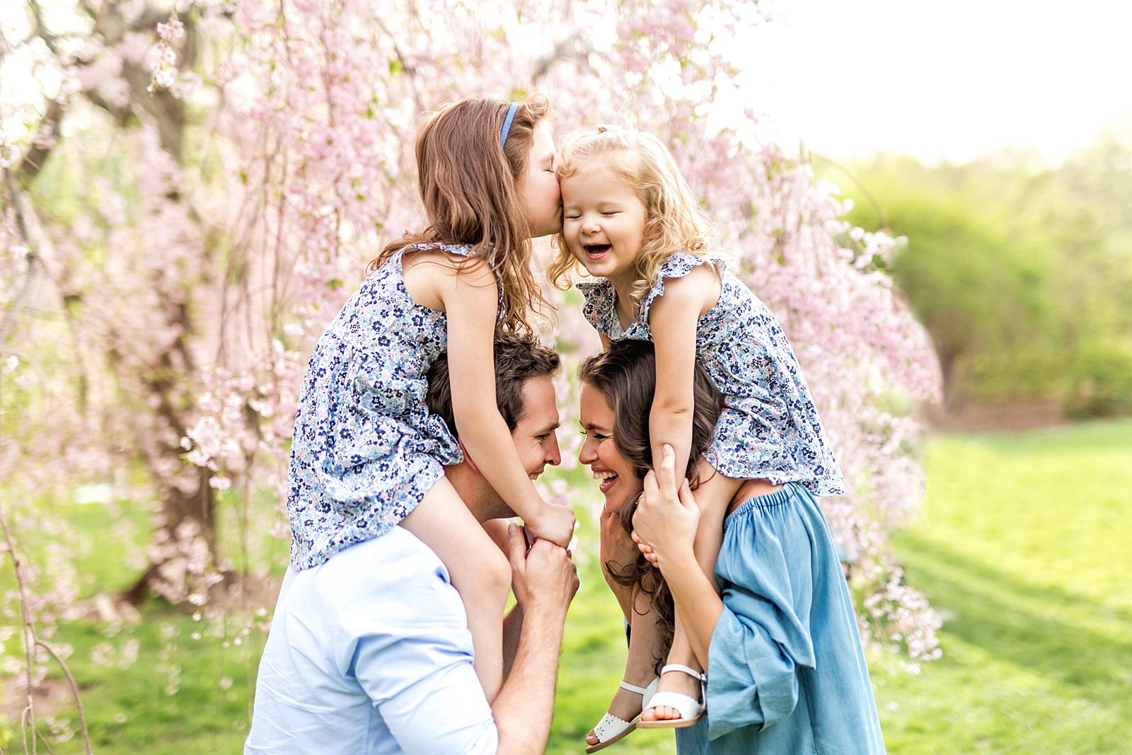Arnold Arboretum family photos