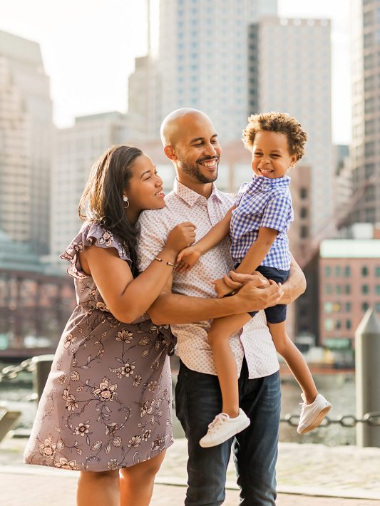 Boston Harborwalk | Seaport Family Photographer