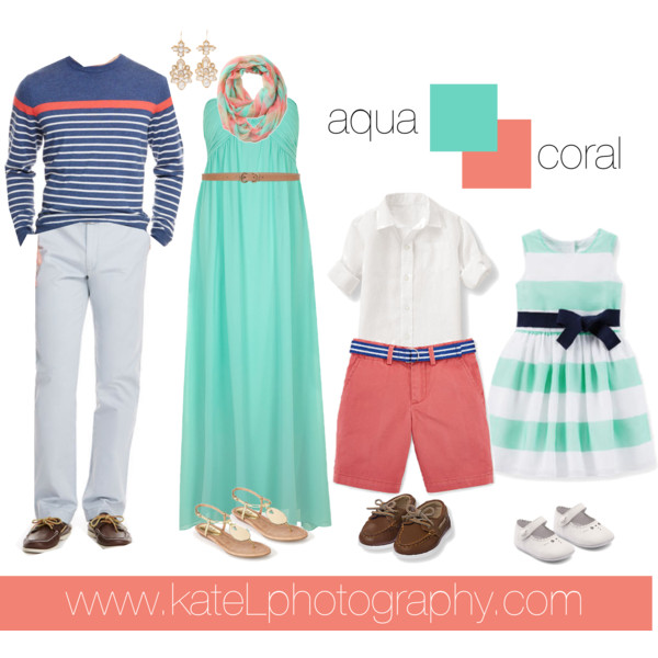Family Pictures In The Beach: What To Wear For Family Photos? // Spring + Summer