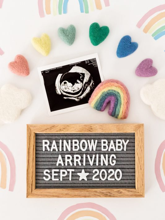 Our Rainbow Baby is on the Way! First Trimester Recap