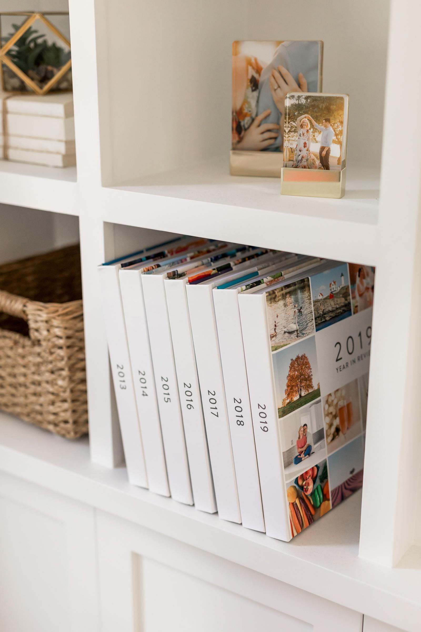 Blurb family yearbooks