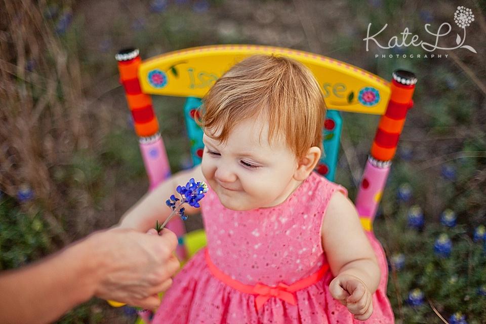 baby girl wearing pink dress