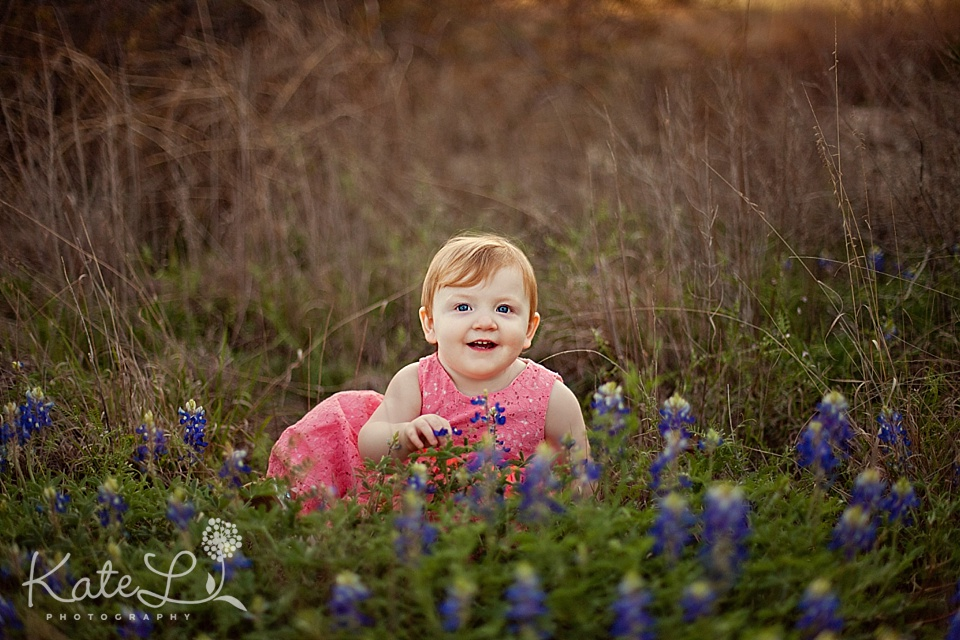 big smiles in the bluebonnet patch