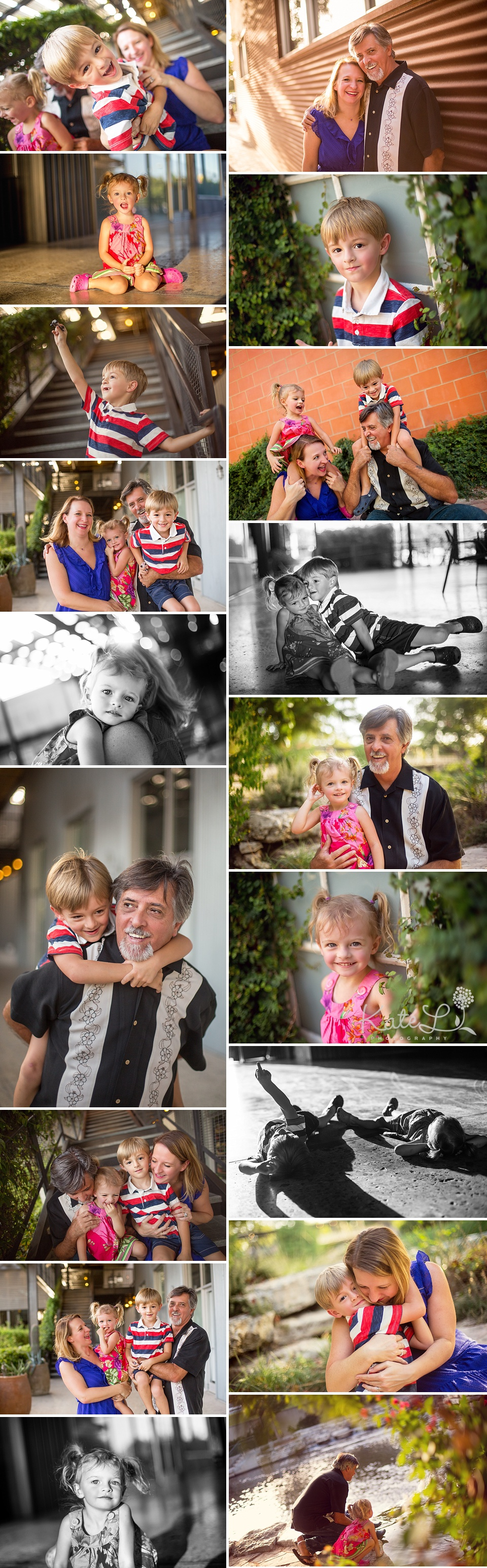 Colorful family photos in Boston!