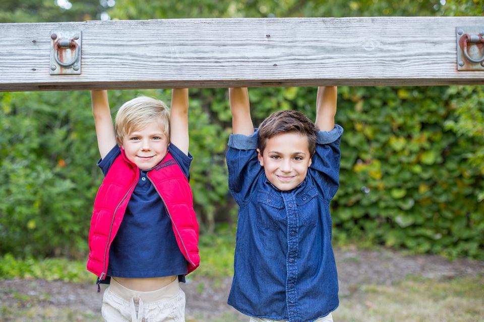 brothers in arnold arboretum