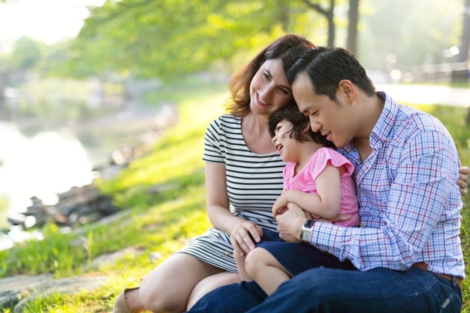 Boston colorful family photos taken by Kate Lemmon.