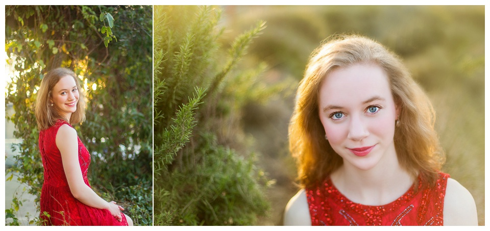 Elizabeth Weesner, photographed by Boston senior portrait photographer Kate Lemmon.