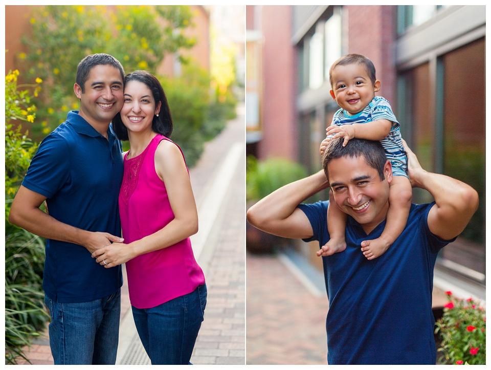 Outdoor family photos taken by a family photographer in Brookline, MA. Brookline Family Photographer