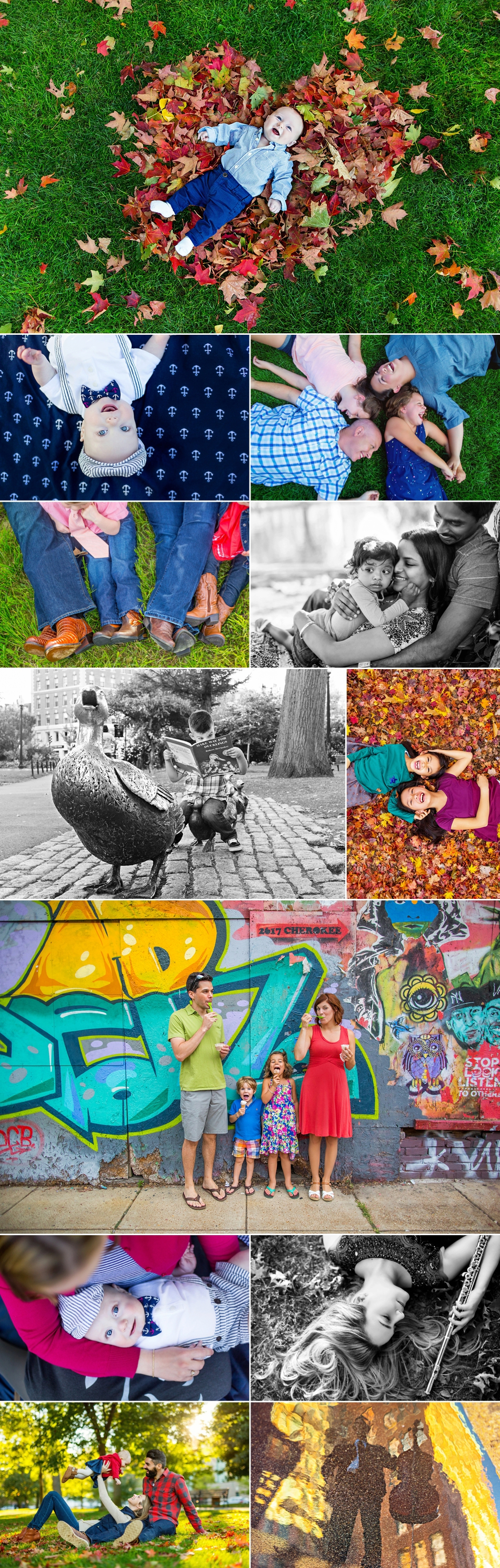 Colorful images of babies and children captured on-location in Boston.