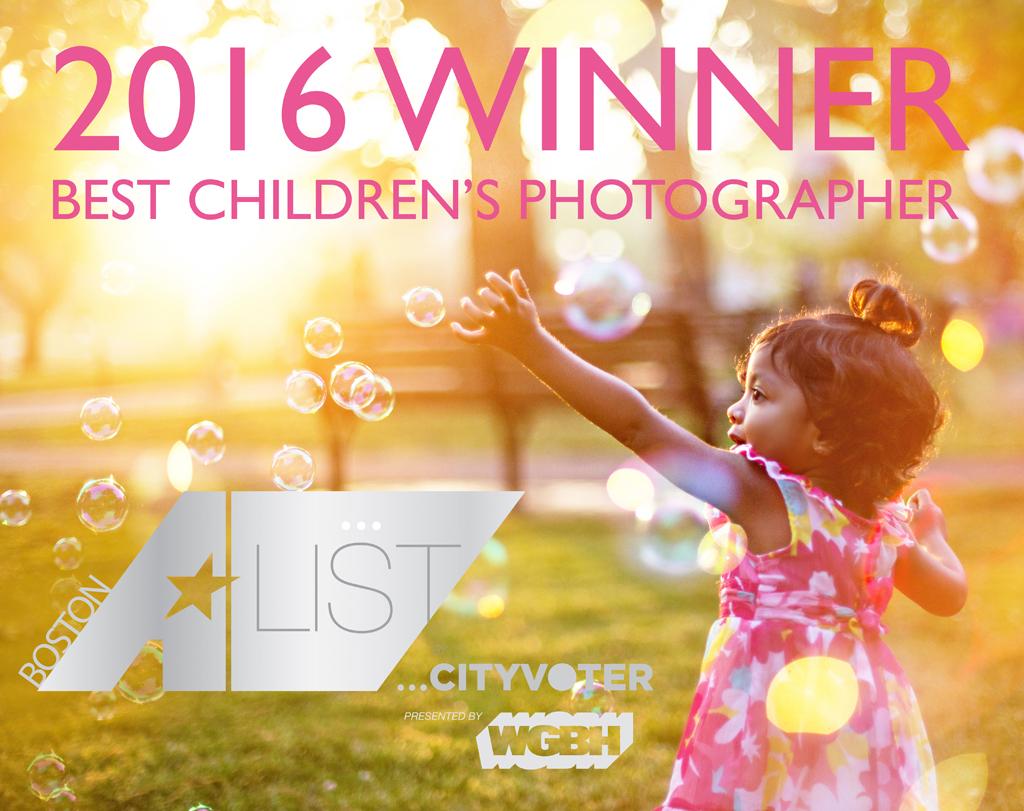 Best Boston Children's Photographer