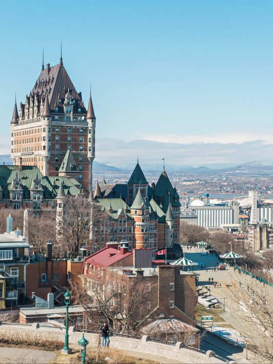 Our Anniversary Trip to Quebec City