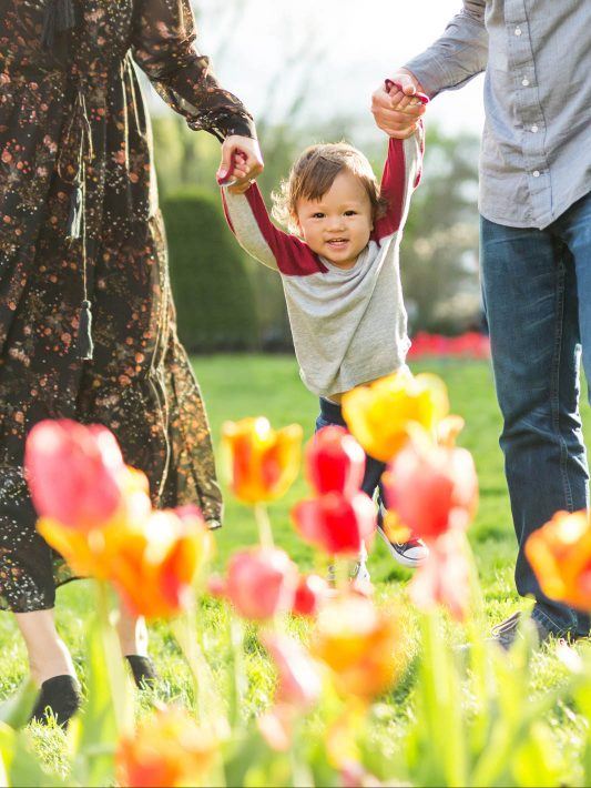 Top 3 Boston Locations for Spring Family Photos