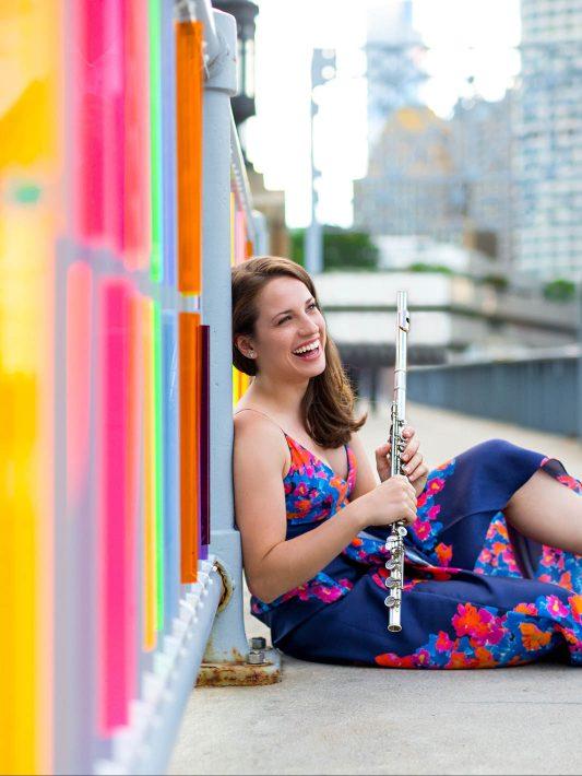 Blair Francis, Flutist | Boston Headshot Photographer