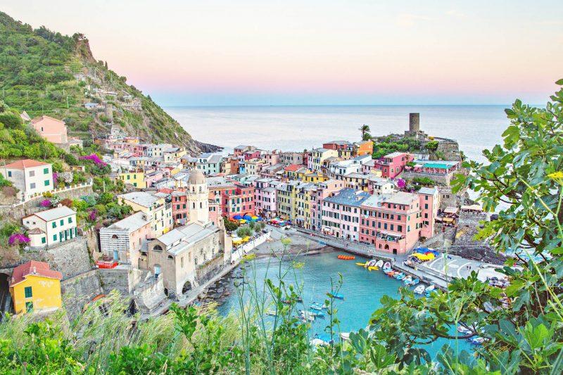 Our Italian Honeymoon: Part 1 {Amalfi Coast + Capri}