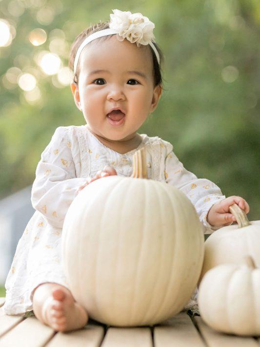 The Cutest Pumpkin | Boston Baby Photographer