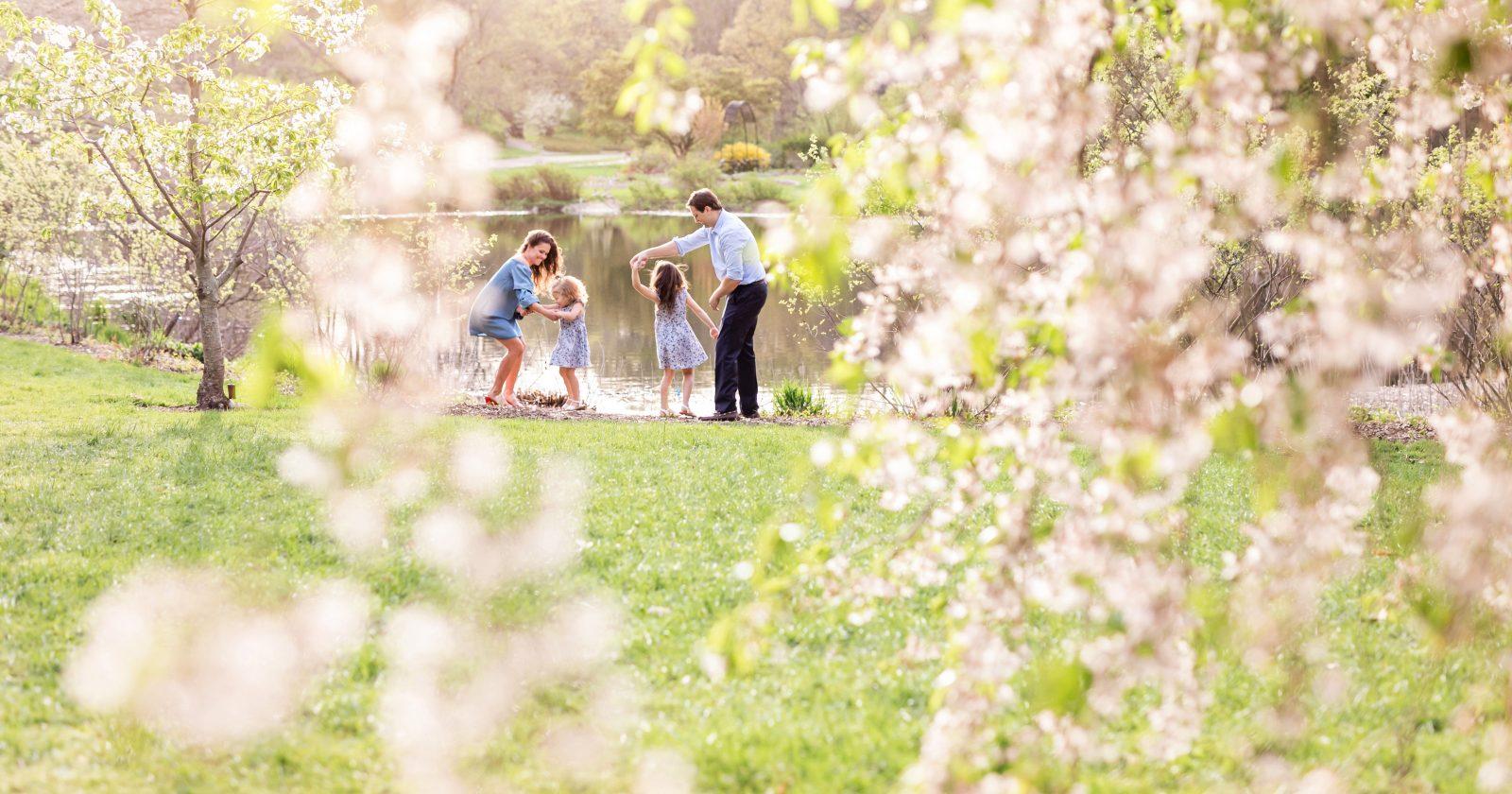 family photos at the arnold arboretum!