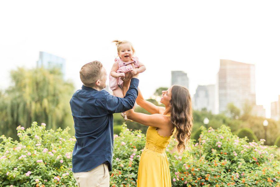 Daisy is One! | Boston Public Garden Family Photos