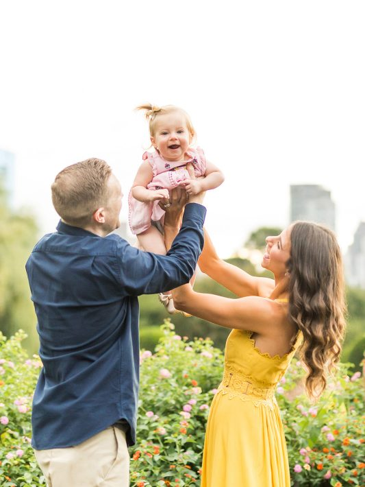 Daisy is One! | Boston Public Garden Family Photos
