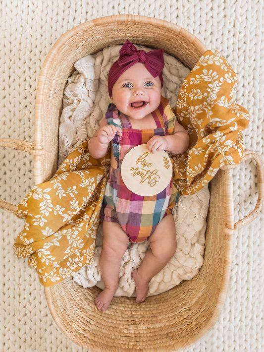 Clara's Fifth Month Baby Update
